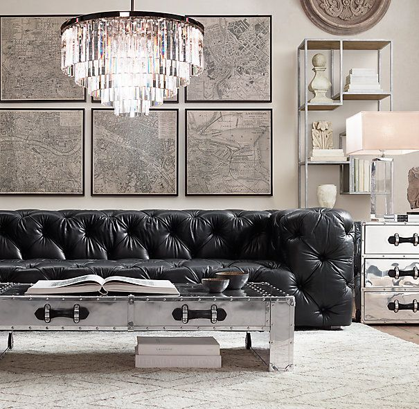 Best 25 Tufted leather sofa ideas on Pinterest Chesterfield