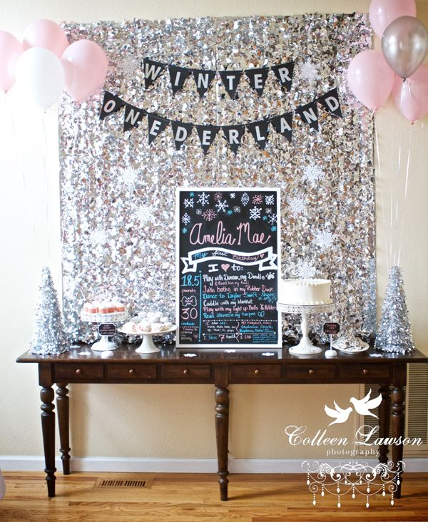 {reader style} A Winter Onederland First Birthday Party | Blue i Style