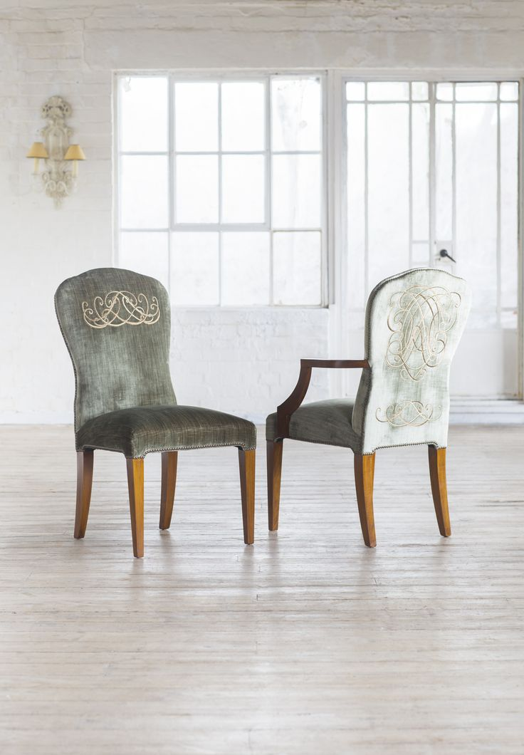 Blake side chair and carver - one of Beaumont & Fletcher's signature pieces