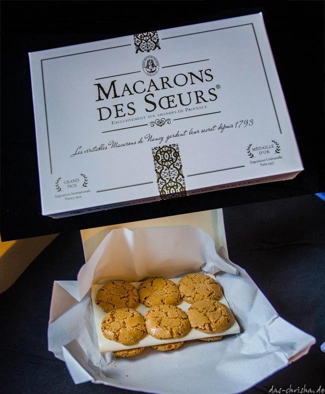Macarons des Soeurs aus Nancy, Lothringen, Frankreich