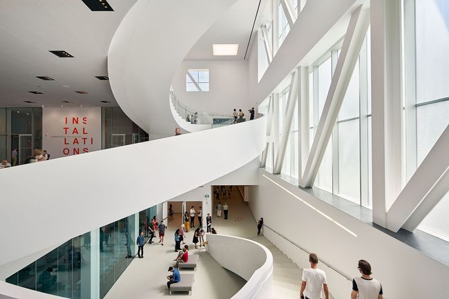 OMA's Pierre Lassonde Pavilion in Quebec will finally open tomorrow | News | Archinect