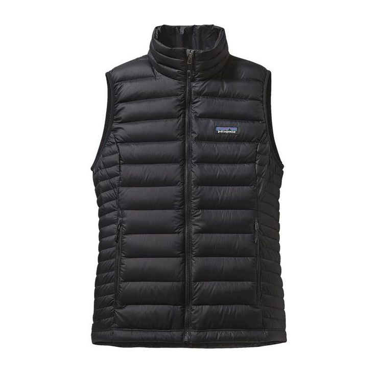 Patagonia Women's DOwn Sweater Vest  Color: Black (BLK) Size: L