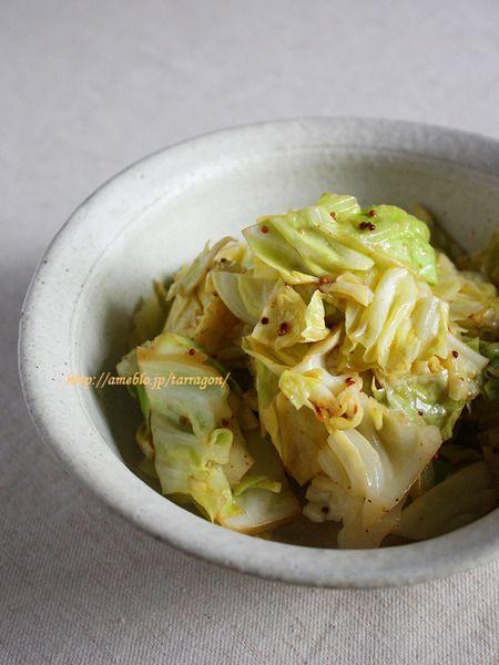 10分で、蒸しキャベツのマスタードサラダ♪ by タラゴン (奥津純子) / レシピサイト「ナディア / Nadia」/プロの料理を無料で検索