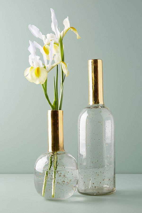 Gilded Vase Diy Vase Bottle Vase Vases Decor