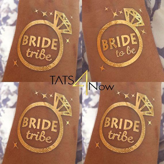 Set of 8 Diamond bachelorette party favorbachelorette by Tats4now