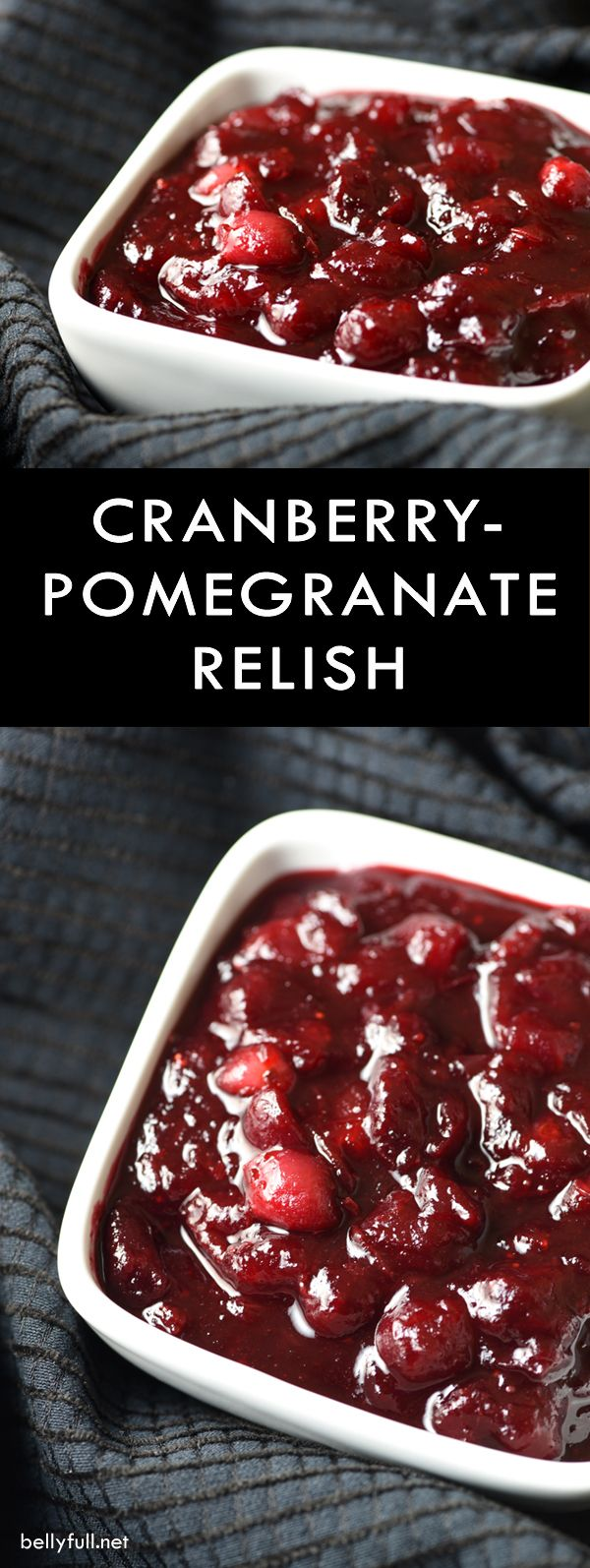 Holiday Cranberry-Pomegranate Sauce Recipe — Dishmaps
