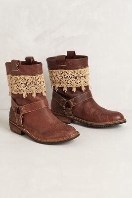 Anthropologie Zephyr Moto Boots