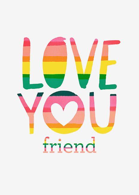 margaret berg art illustration friendship love friendship