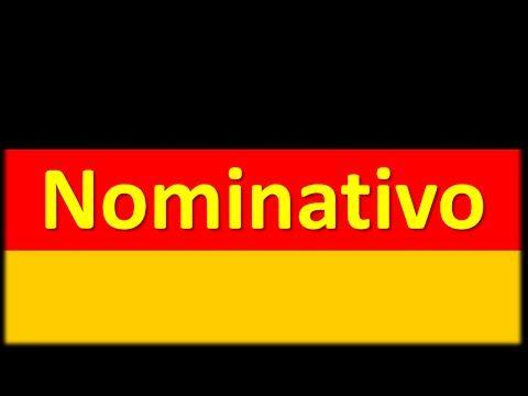 Caso Acusativo [Declinação na língua alemã] - YouTube