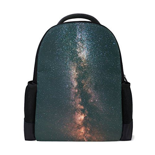 SAVSV Dacron Starry Sky Fashion Backpack Laptop Backpack Travel Bag College School Bag For Students Teenagers Tourists #SAVSV #Dacron #Starry #Fashion #Backpack #Laptop #Travel #College #School #Students #Teenagers #Tourists