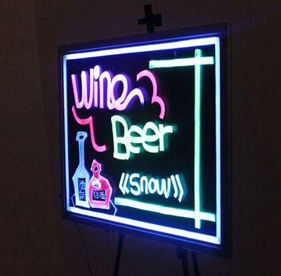 Illuminated LED Writing Board B