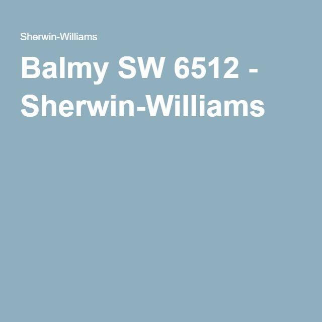 Balmy SW 6512 - Sherwin-Williams