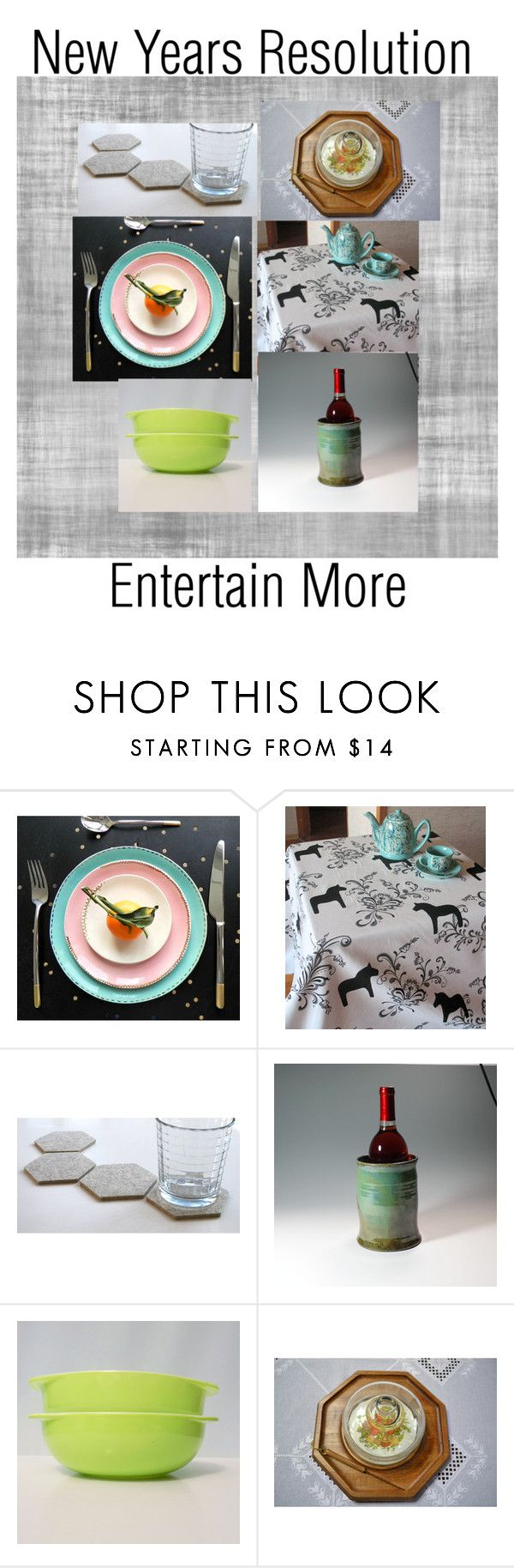 """Entertain More"" by joliefemmefashions on Polyvore featuring interior, interiors, interior design, home, home decor, interior decorating and etsyevolution"