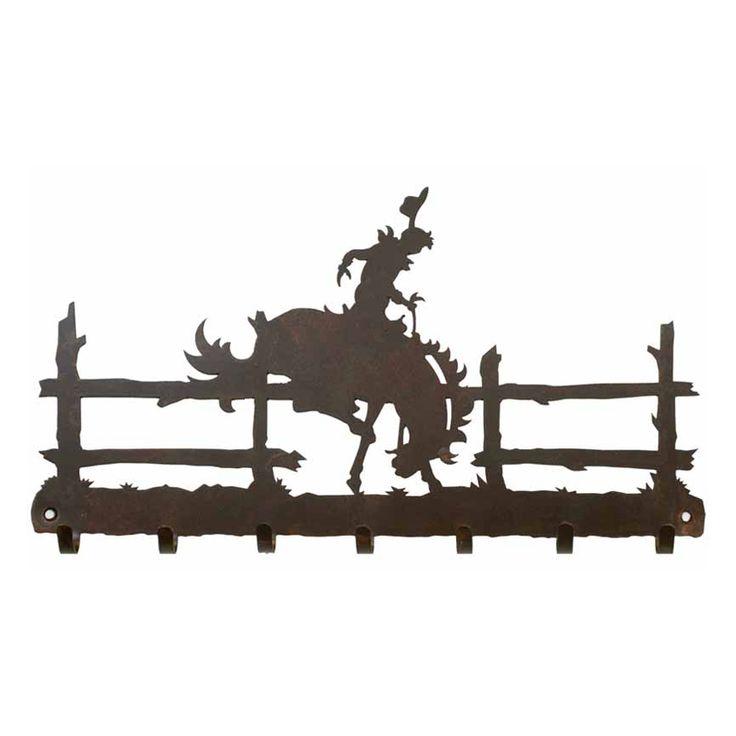 Bronc Key Chain Holder - Rust