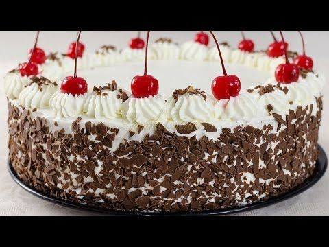 Tort padurea neagra pas cu pas | JamilaCuisine - YouTube