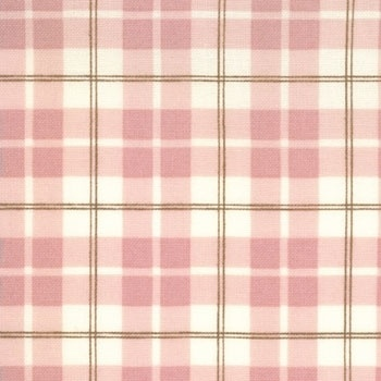 Pink plaid wallpaper