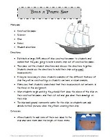 Build a pirate ship student directions