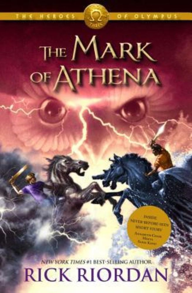 New The Heroes Of Olympus Book Three Mark Of Athena By Rick