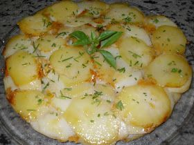 Patatas a la parmesana Thermomix