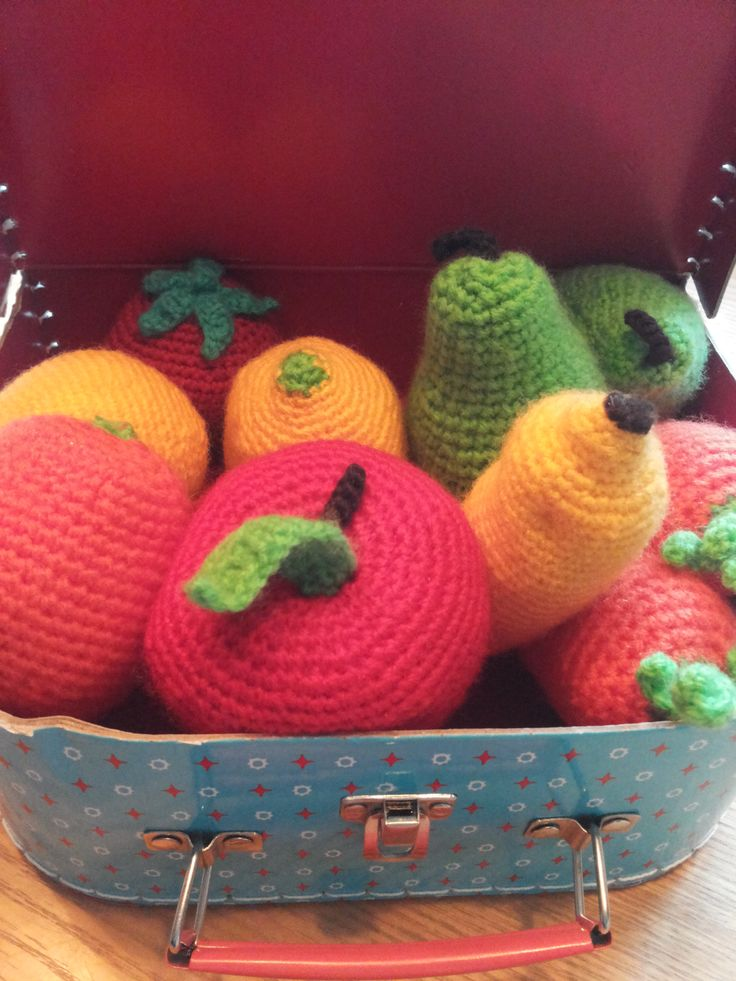 Fruit in a suitcase