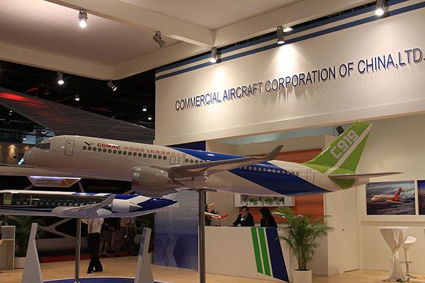 COMAC C919 Passenger Aircraft, China. for More images visit http://www.aerospace-technology.com/projects/comac-c919-aircraft-china/