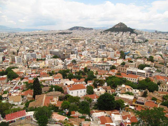 Наш отдых в Греции. Пелопоннес, Патры. Афины
