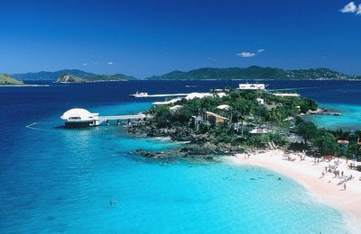 Coki Beach and Coral World -Top St. Thomas Attractions -- What to See and Do in St. Thomas, U.S.V.I.