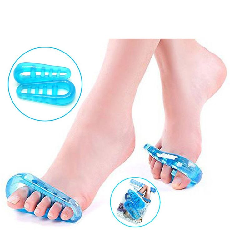 75% Off Best Price!!!   +FREE SHIPPING 2Pcs/1Pair Sumifun Gel Foot Massage Pain Relief Toe Stretcher Separator 5 Finger Hallux Valgus Bunions Corrector OrthotictorC396