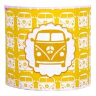#wandlampje #VWBusje geel #auto #kinderkamer #volkswagenbusje #SaartjePrum