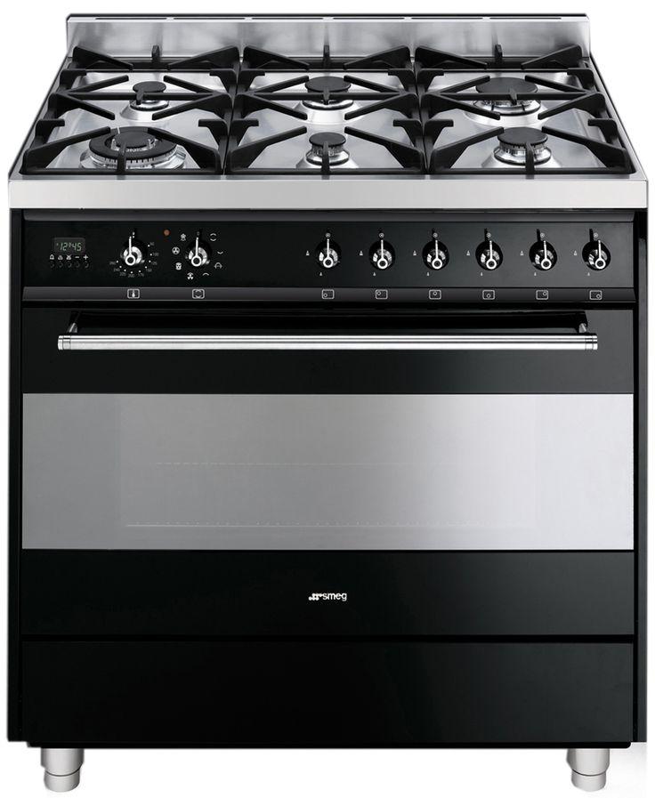 Freestanding Smeg Dual Fuel Oven Stove C9GMN | Appliances Online