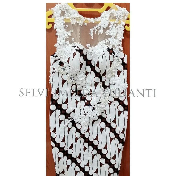 when batik meet lace... #batik #dress #lace #parang #white #lasercut #fashion #fashiondesigner #designer #design #fashiondesign #simple #handmade #madebyorder #madebyme #bandung #selviimeldayulianti #instafashion #like4like by selviimeldayulianti