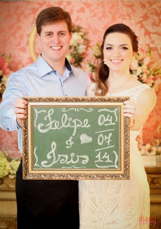 Comemoração de Noivado: Isis e Felipe - casar.com