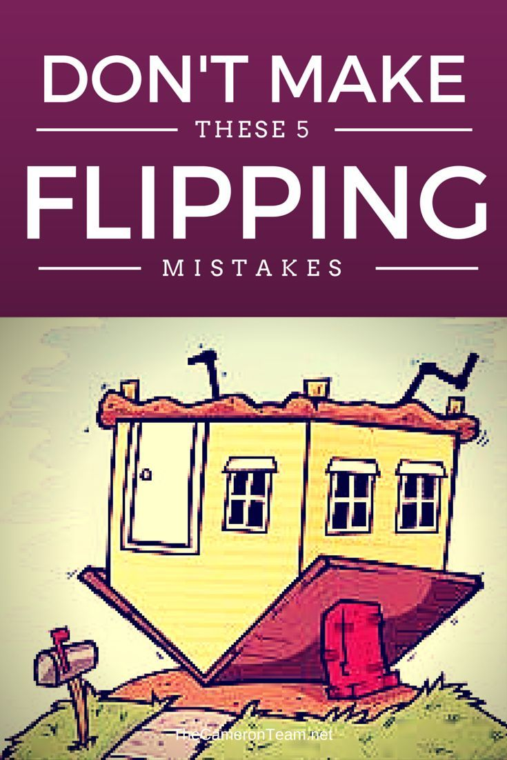 If you've been considering getting into flipping houses, here are 5 mistakes beginners make from the Realtor's point-of-view.   #houseflipping #realestate #investing