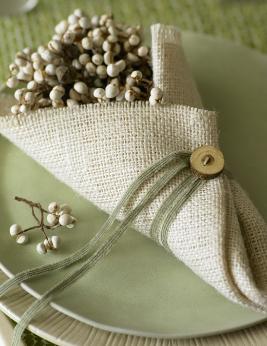 How cute is this . . .A perfect little favor for your guests.