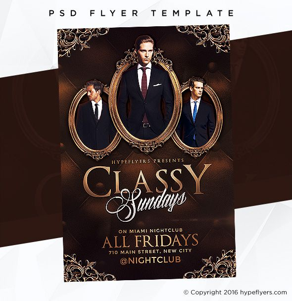 7 Best Fashion Elegant Flyer Templates Images On Pinterest Adobe