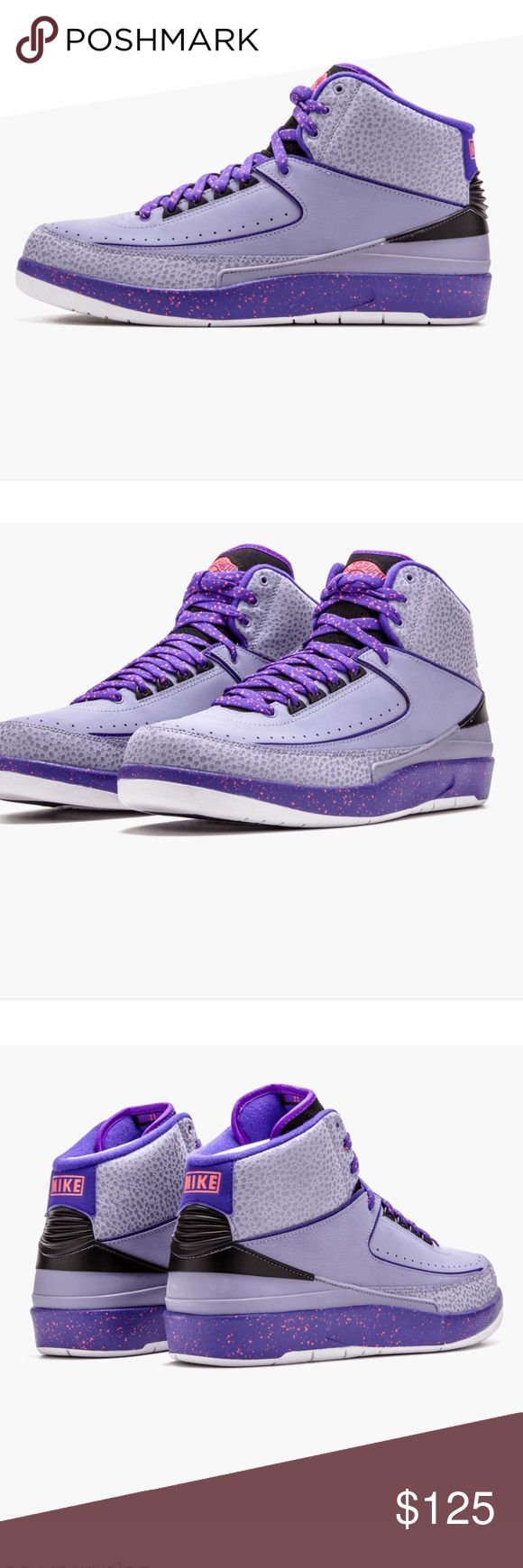 Air Jordan Retro 2 Iron Purple Used Good Condition. No holds. No trades. No off site transactions. No damages. Original Box. Offers Accepted. No low ball offers. Air Jordan Shoes Sneakers