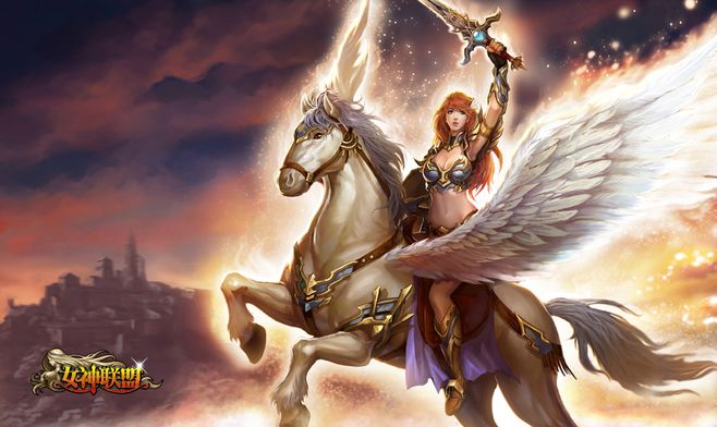 League Of Angels Hero Valkyrie
