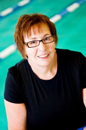 Bonnie Reamer. Coaching participants in the warm water and lap pools. Before or after surgery, joint replacement...making you stronger.