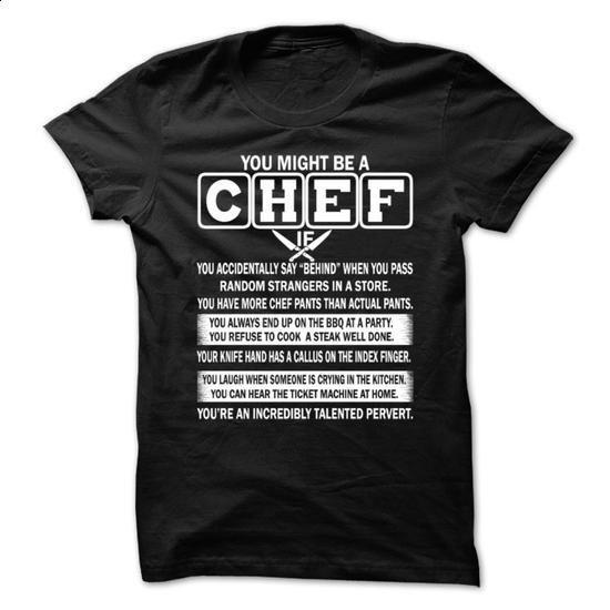 Chef - #dress shirts #hoodies womens. I WANT THIS => https://www.sunfrog.com/Automotive/Chef-67946644-Guys.html?60505