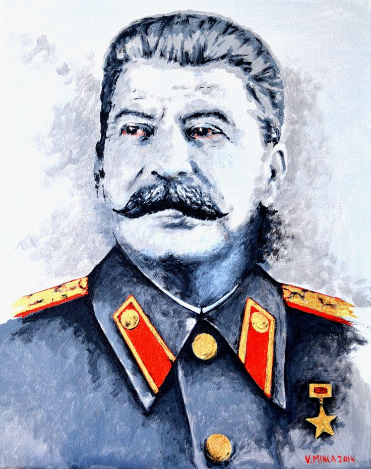 Joseph Stalin Art Print Limited Edition Art Prints, personally inspected, numbered, approved and signed, with a Certificate of Authenticity.