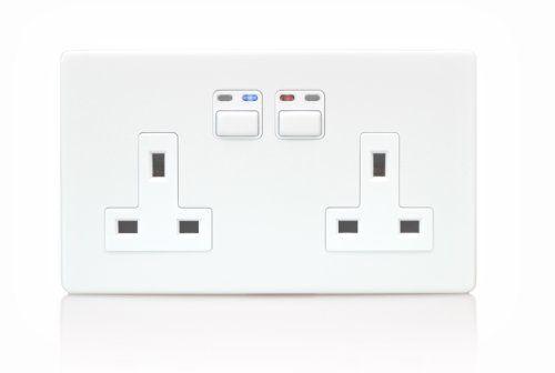 lightwaverf power socket  13a double socket uk version