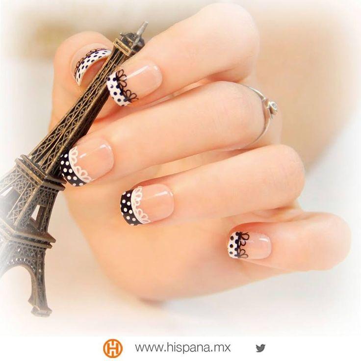 Dale un toque a tus uñas, ¿qué te parece este diseño?