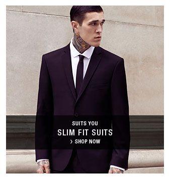 Best 25  Slim fit suits ideas on Pinterest | Mens suits style, Man ...