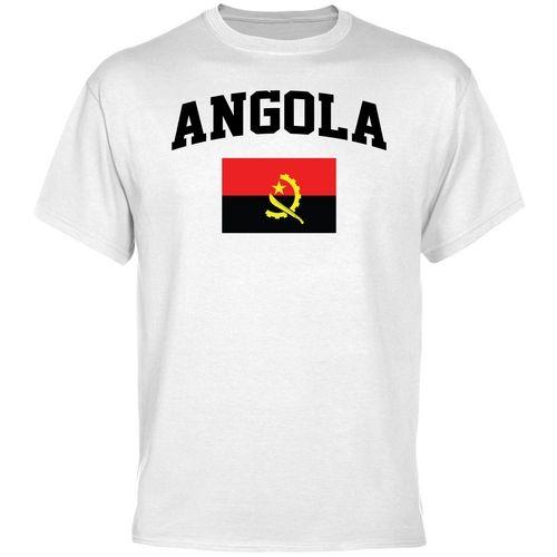 Olympics;Soccer Angola Flag T-Shirt