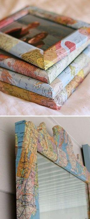 Карты в интерьере (подборка) / Бумага и карандаши (скрапбукинг, оригами, и т.д.) / ВТОРАЯ УЛИЦА
