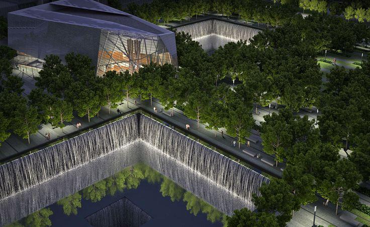 911-museum-night-rendering