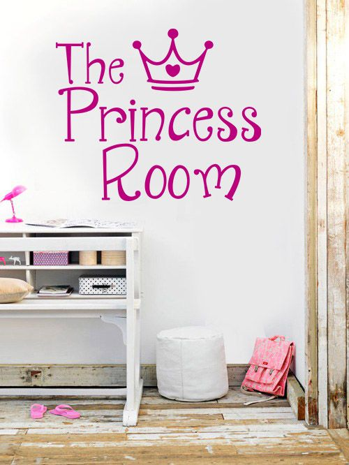 Princess Room - Vinilos Decorativos Fotomurales Adhesivos - Medellín