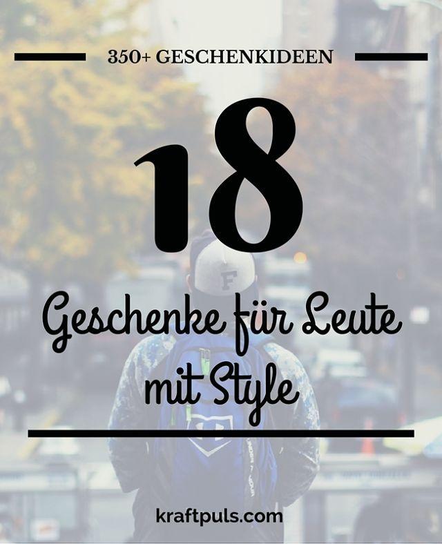 350+ Geschenkideen: Geschenke für Leute mit Style #geschenkeliste