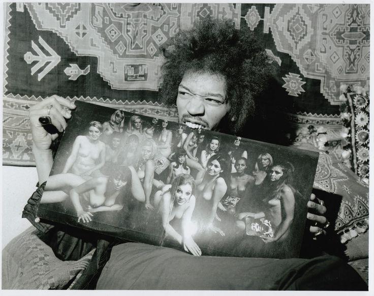 Jimi Hendrix Rare | Jimi Hendrix's Record Collection | Recordmecca