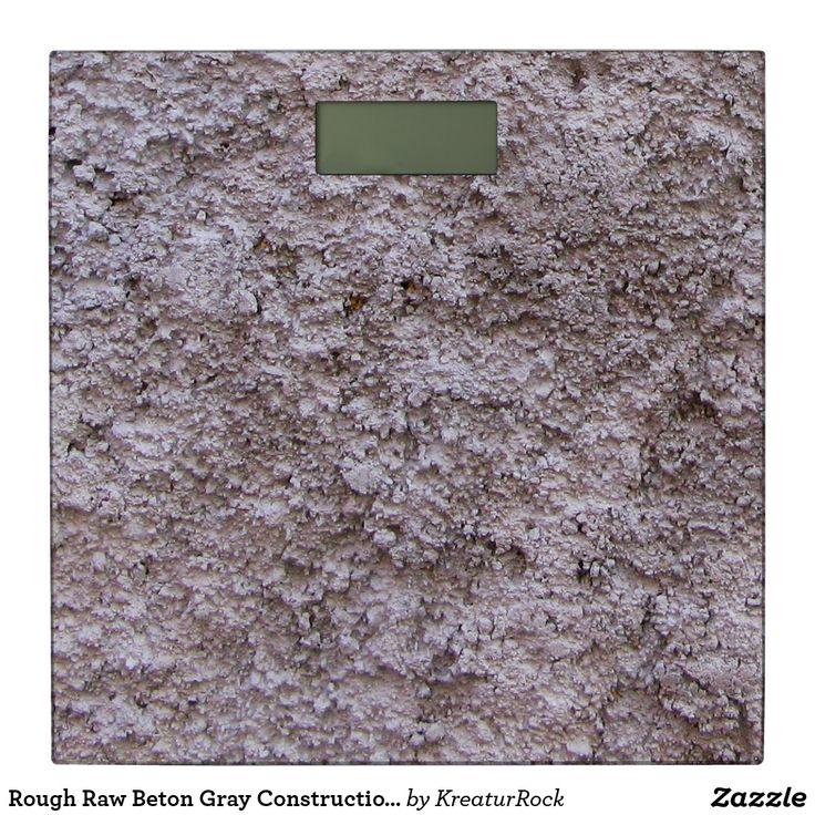 Rough Raw Beton Gray Construction Wall